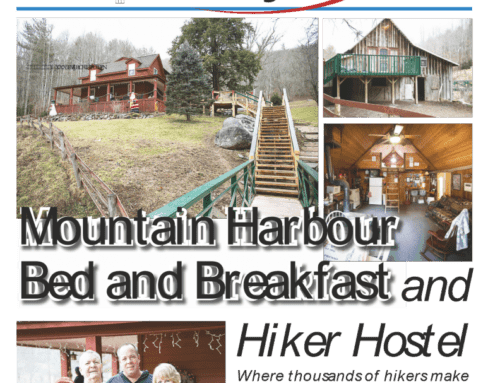 Local newspaper does featured article on Mountain Harbour.